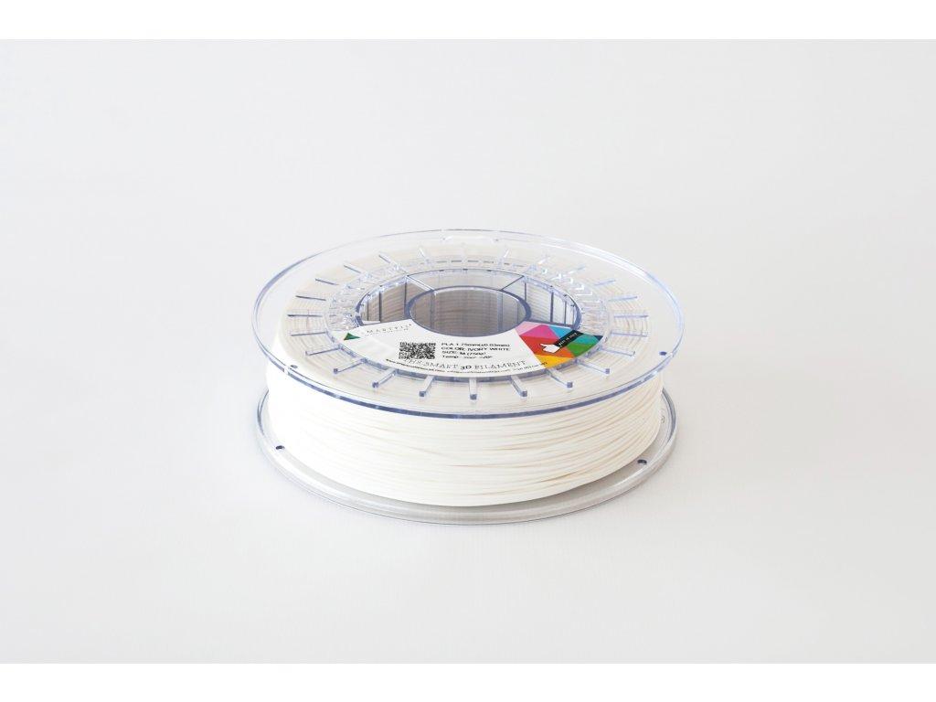 PLA filament bílý ivory 1,75 mm Smartfil 330g