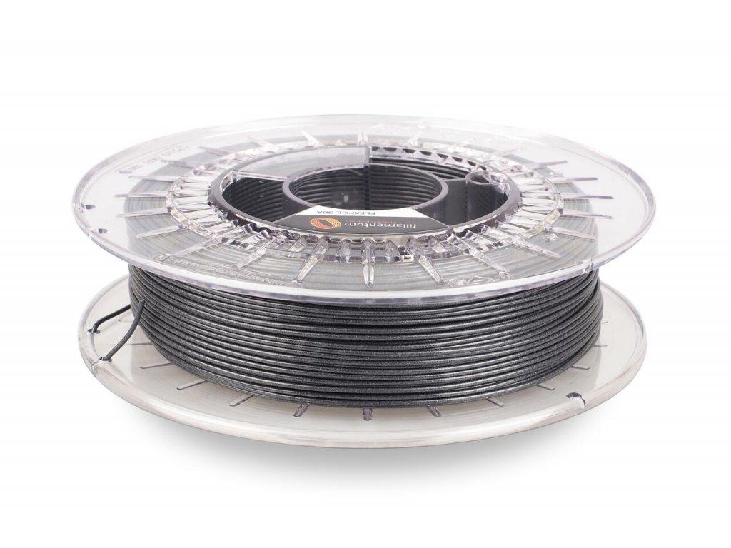 Flexfill tisková struna 98A TPU 1,75mm vertigo grey 0,5kg Fillamentum
