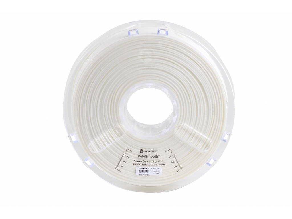 PolySmooth filament sněhově bílý 1,75mm Polymaker 750g