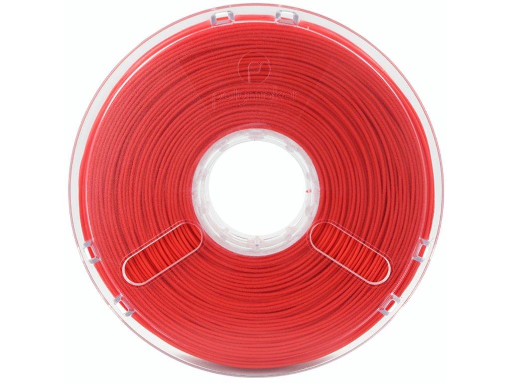 PolySmooth filament korálově červený 1,75mm Polymaker 750g