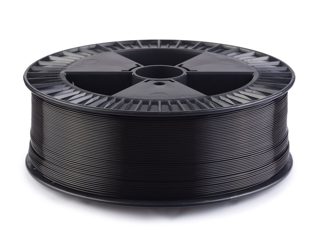 PLA filament Extrafill černý 1,75mm 2500g Fillamentum