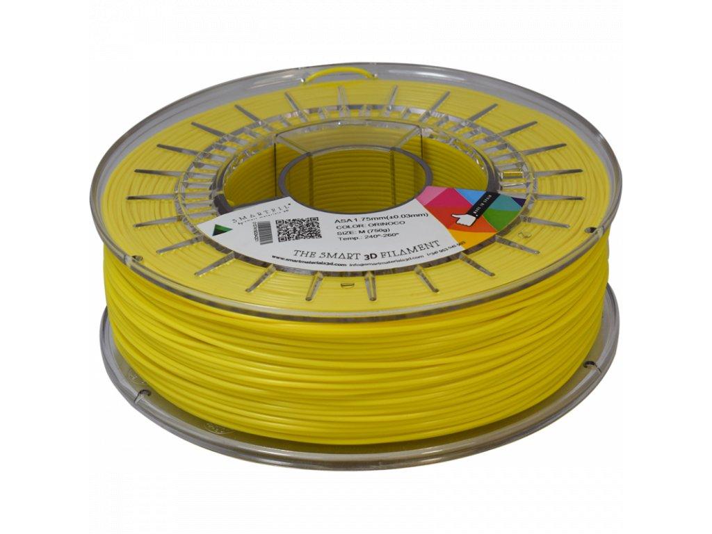 ASA filament tabákově žlutý 1,75 mm Smartfil 750 g