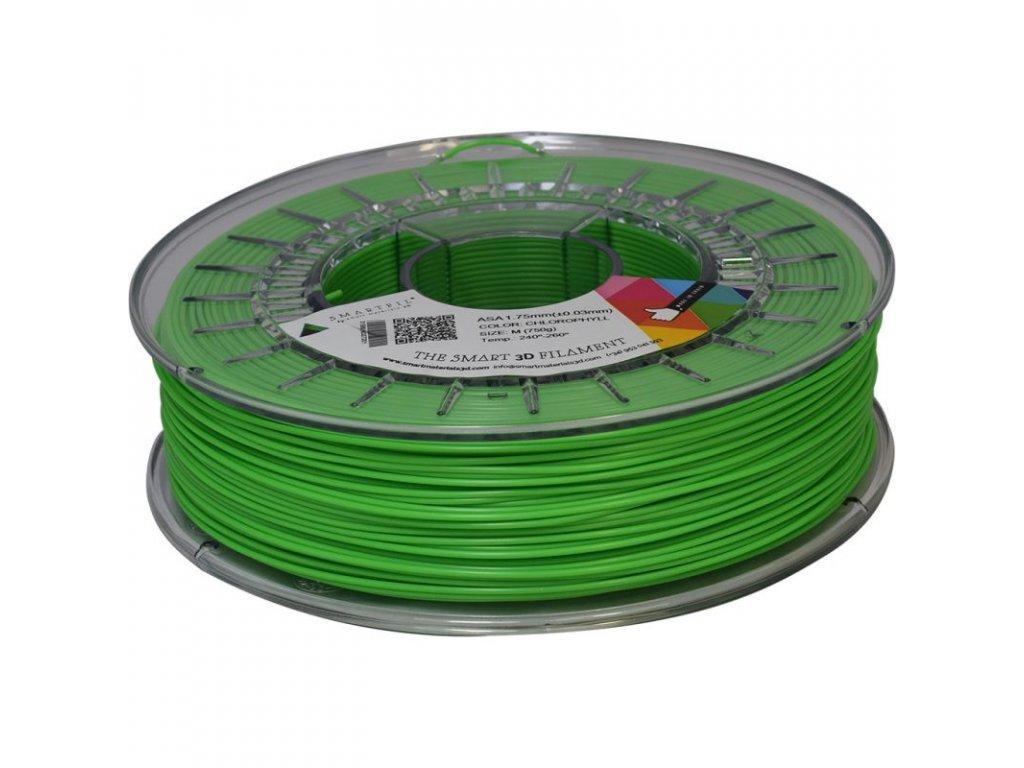 ASA filament zelený chlorofyl 1,75 mm Smartfil 750 g