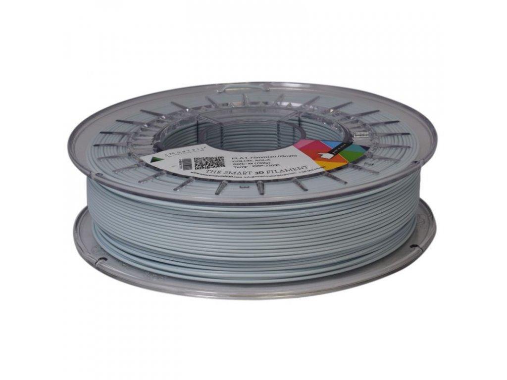 PLA filament pastelově modrý AQUA 1,75 mm Smartfil 750g