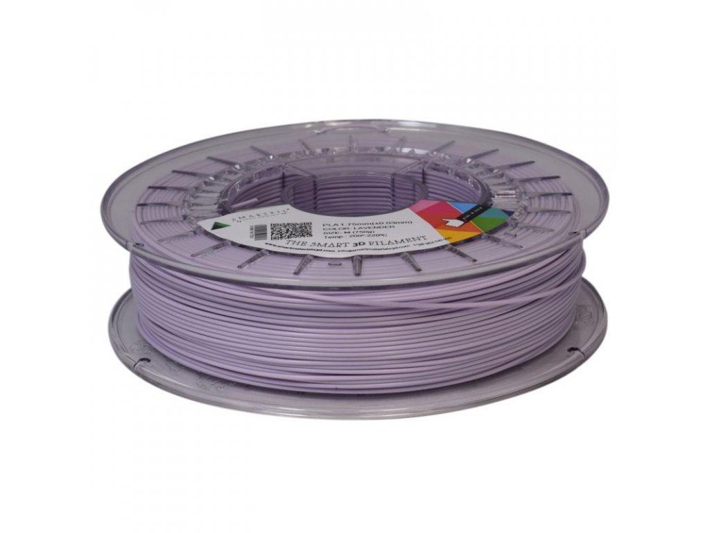 PLA filament pastelově fialový LAVENDER 1,75 mm Smartfil 750g