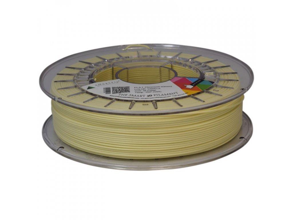 PLA filament vanilkový 1,75 mm Smartfil 750g