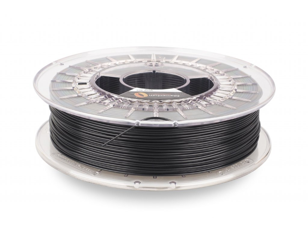 VINYL 303 filament černý 1,75 mm Fillamentum 750g