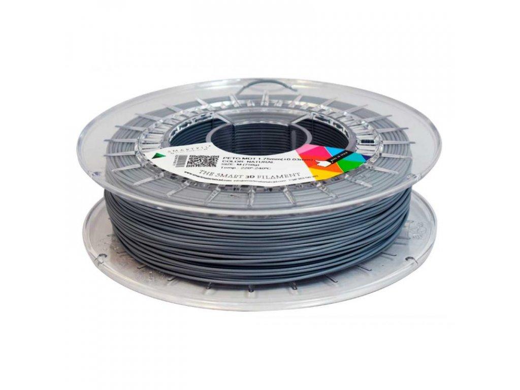 PET-G Magneto filament magneticky detekovatelný šedý 1,75 mm Smartfil 750 g