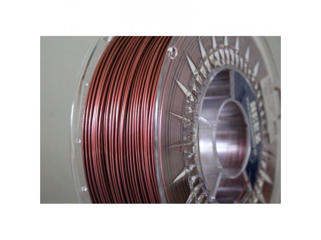 PETG filament růžový metalický 1,75 mm Herz 1 kg