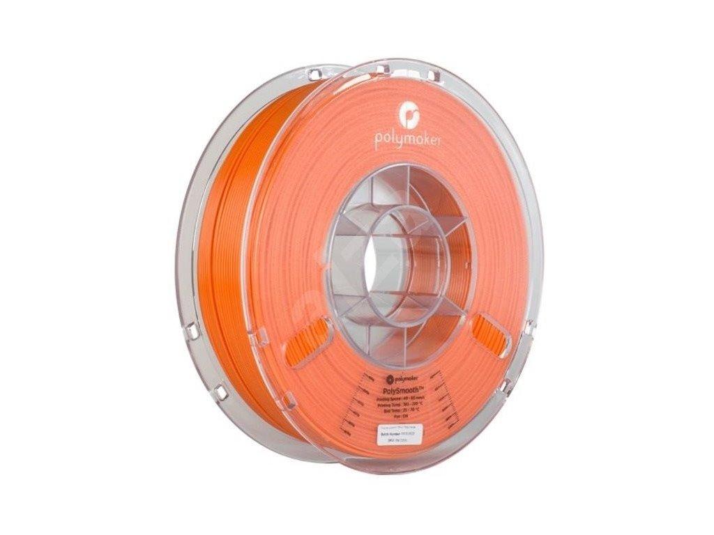PolySmooth filament oranžový 1,75mm Polymaker 750g