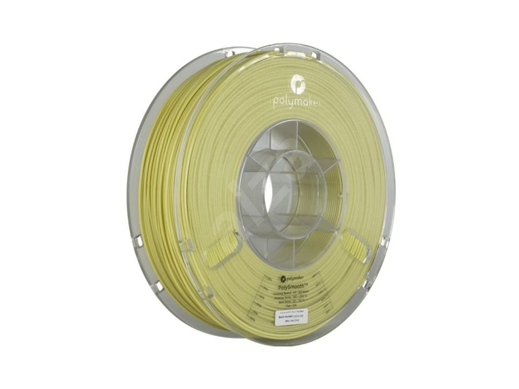 PolySmooth filament béžový 1,75mm Polymaker 750g