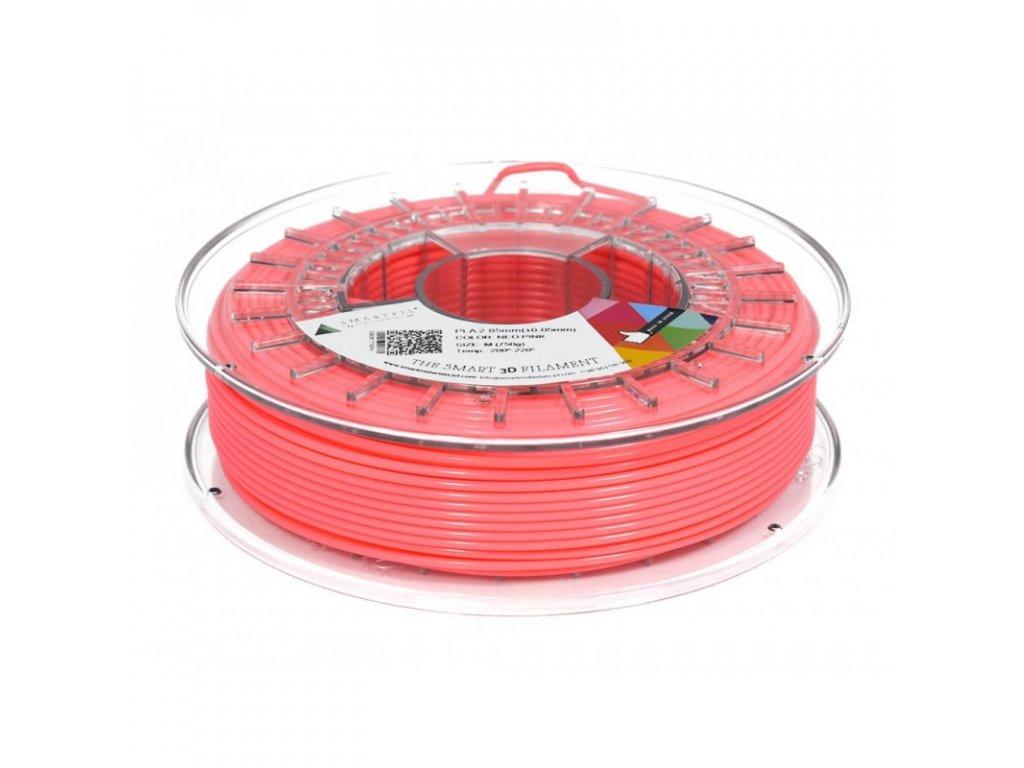 PLA filament neonově růžový 1,75 mm Smartfil 750g