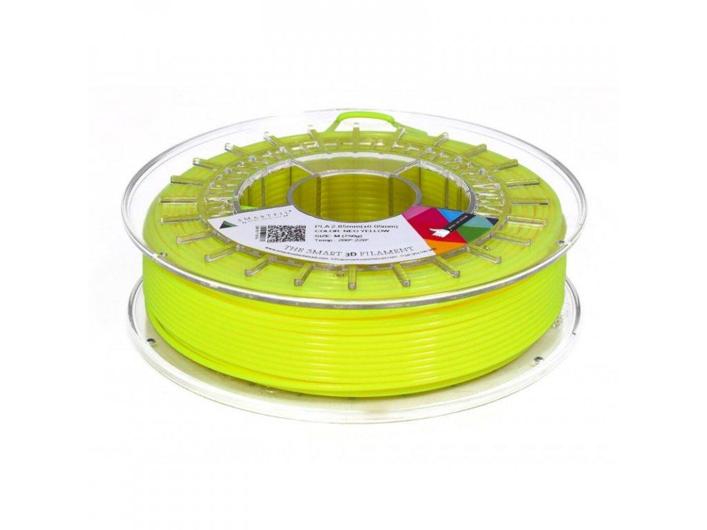 PLA filament neonově žlutý 1,75 mm Smartfil 750g