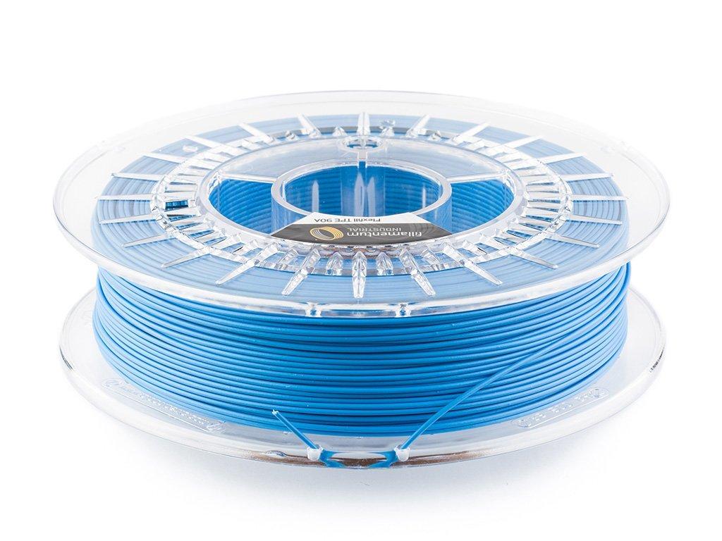 Flexfill TPE 90A tisková struna 1,75mm 0,5kg Fillamentum Sky Blue