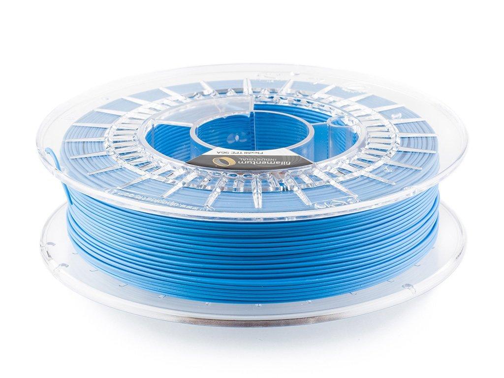 Flexfill TPE 96A tisková struna 1,75mm 0,5kg Fillamentum Sky Blue