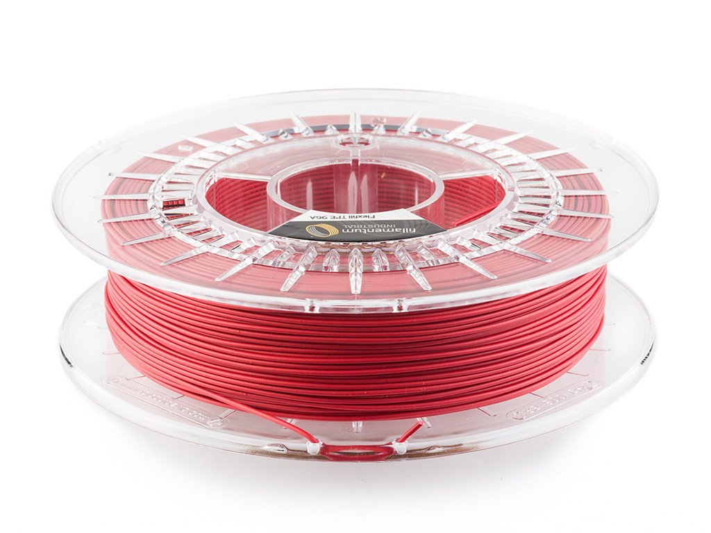 Flexfill TPE 96A tisková struna 1,75mm 0,5kg Fillamentum Signal Red