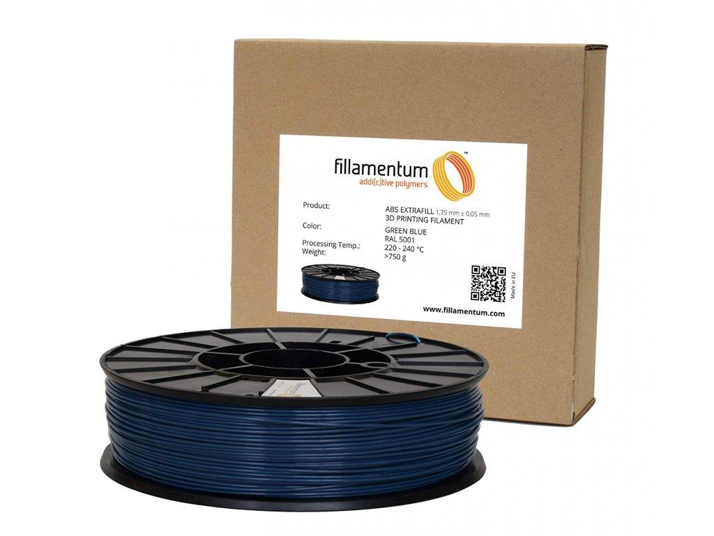 ABS filament Extrafill Green Blue 1,75 mm 750g Fillamentum X