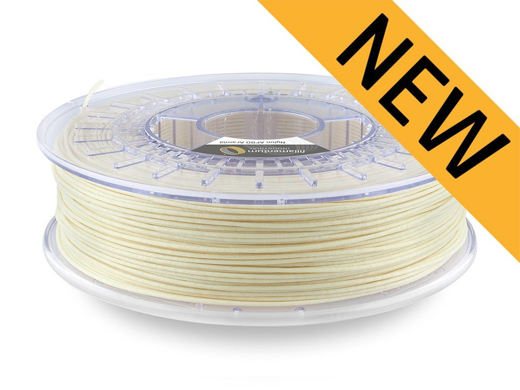 Nylon AF80 Aramid 1,75mm natural Fillamentum 600 g