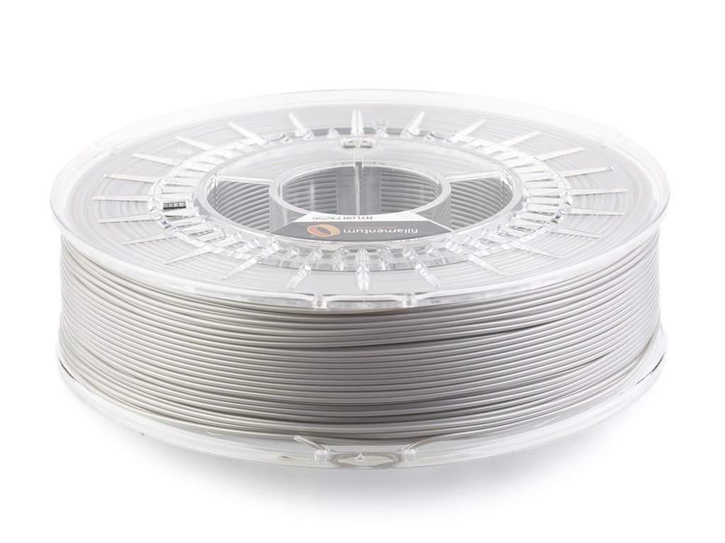 Nylon FX256 1,75mm metallic grey Fillamentum 750g