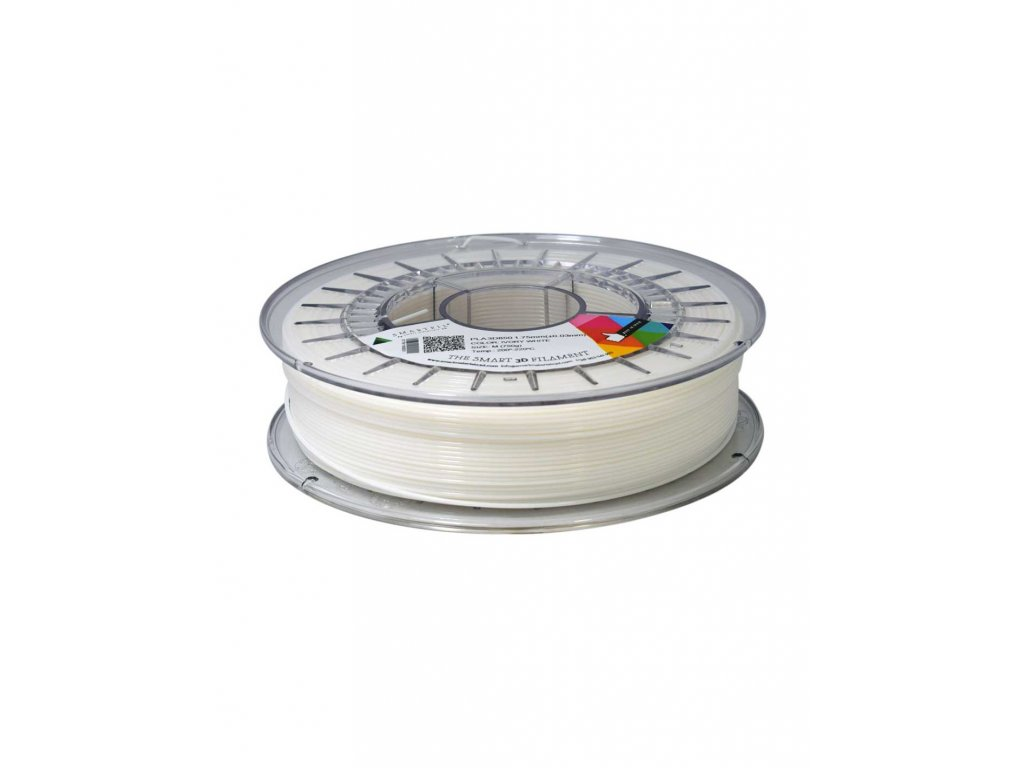 PLA 3D 850 filament bílý 1,75 mm Smartfil 750 g