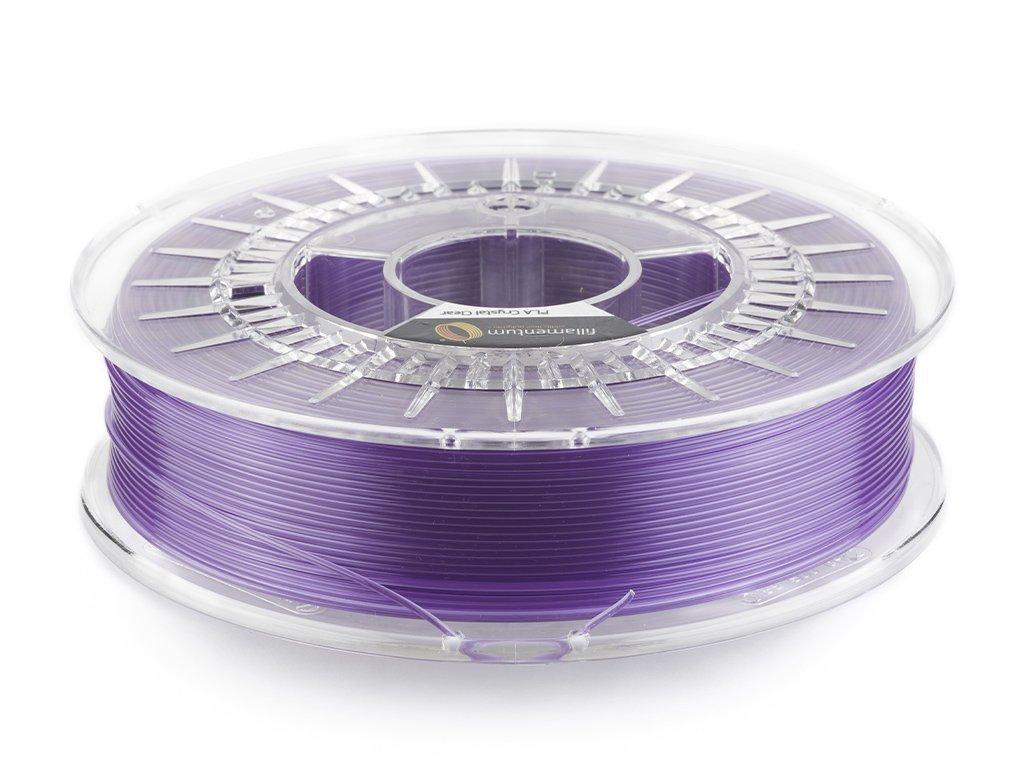 PLA Crystal Clear Amethyst Purple 1,75mm 750g Fillamentum