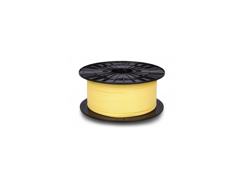 Filament-PM PLA + vylepšená snadno tisknutelná struna Banana Yellow 1,75 mm 1 kg Filament PM