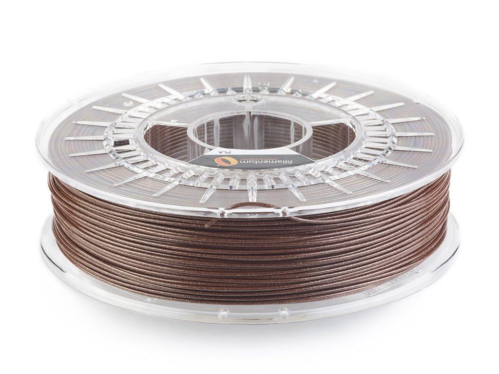PLA filament Vertigo Chocolade 1,75mm 750g Fillamentum