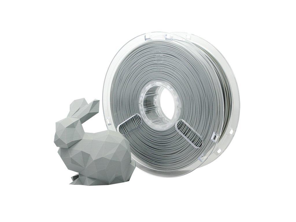 PLA PolyMax filament šedý 1,75mm Polymaker 750g