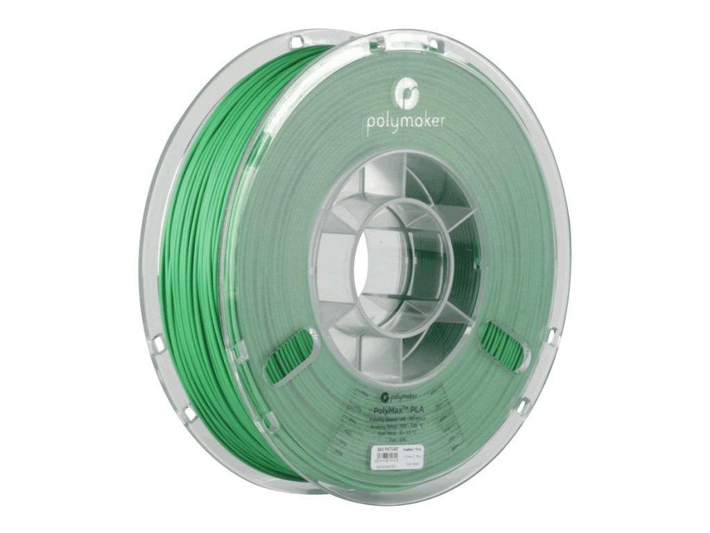 PLA PolyMax filament zelený 1,75mm Polymaker 750g