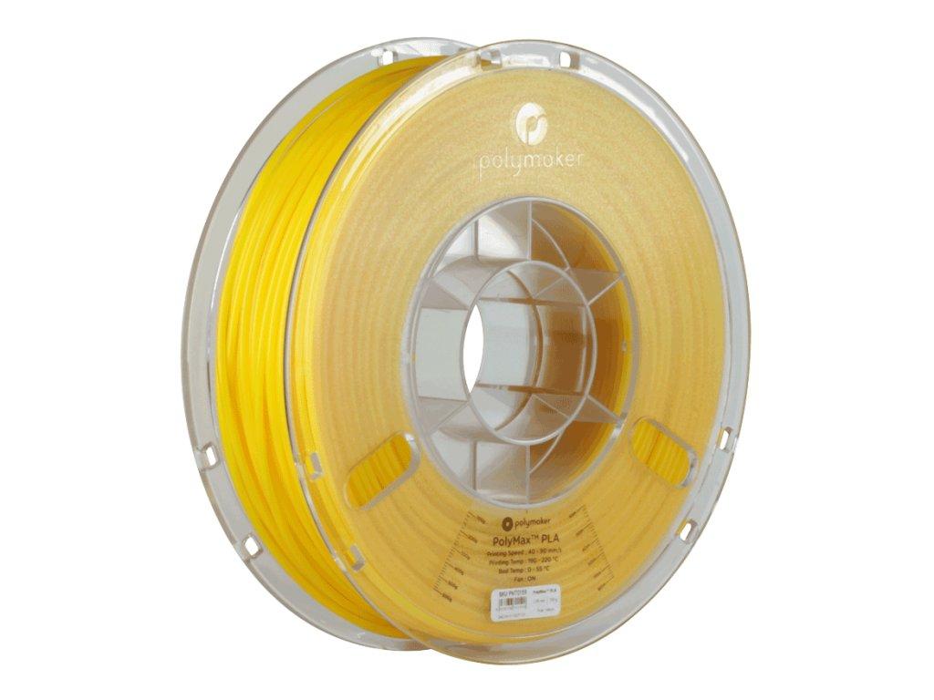PLA PolyMax filament žlutý 1,75mm Polymaker 750g