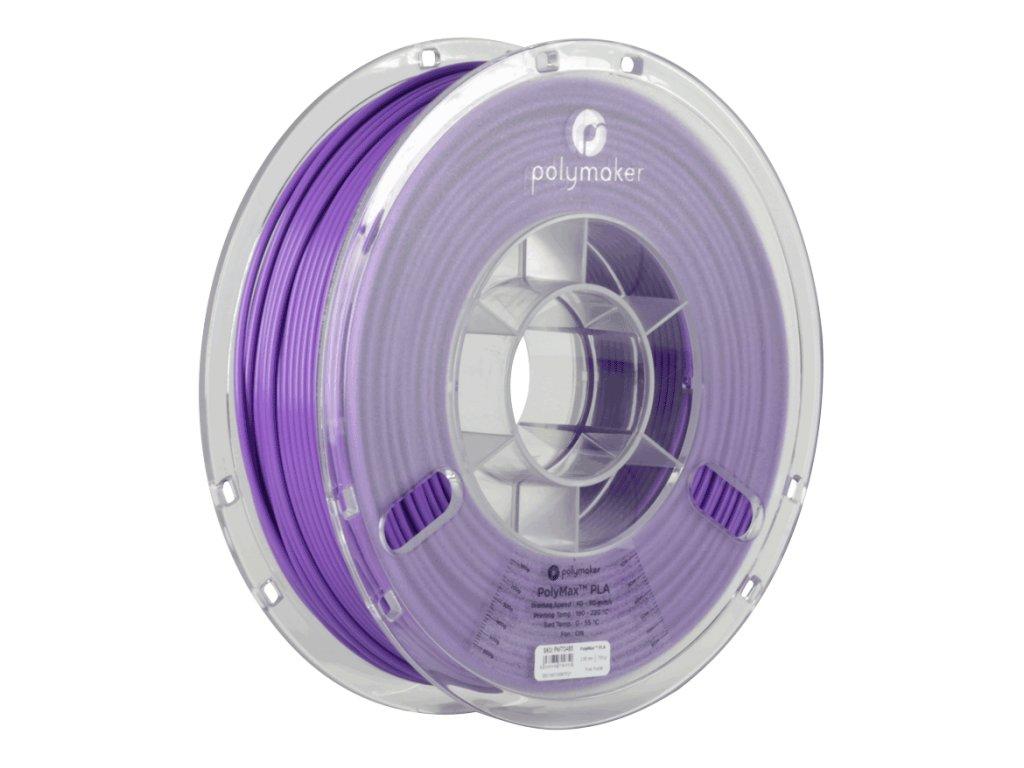 PLA PolyMax filament fialový 1,75mm Polymaker 750g