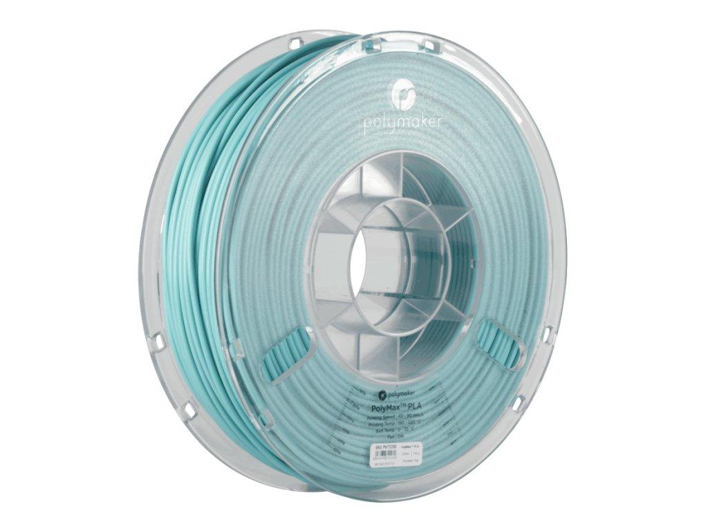 PLA PolyMax filament Teal modrozelený 1,75mm Polymaker 750g