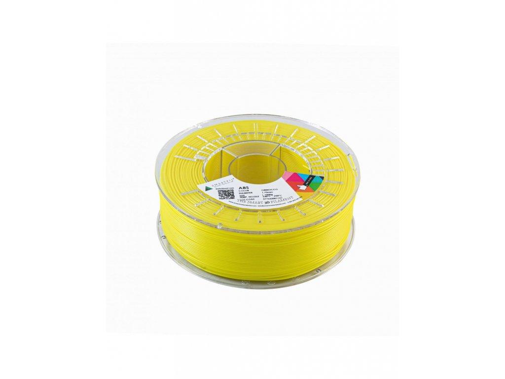 ABS filament tabákově žlutý 1,75 mm Smartfil 1kg Cívka: 1 kg