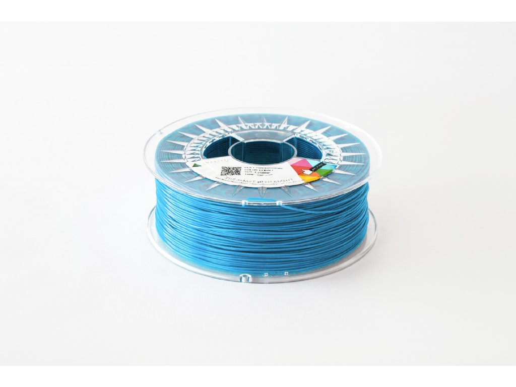 PLA filament safírově modrý 1,75 mm Smartfil 330g