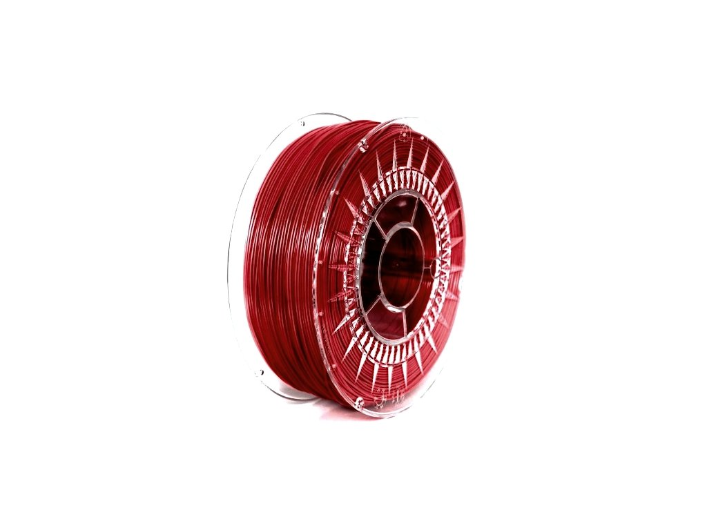 PET-G filament 1,75 mm červený Devil Design 1 kg