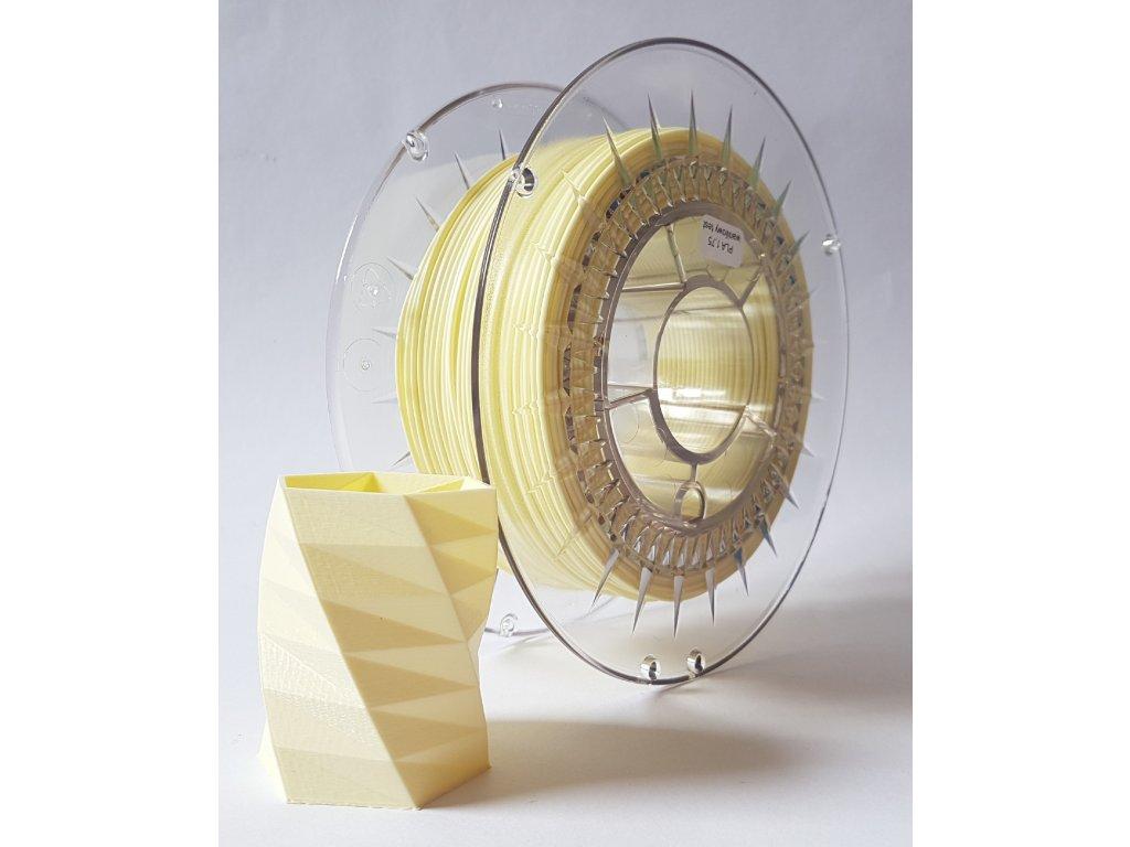 PET-G filament 1,75 mm vanilkový Devil Design 1 kg