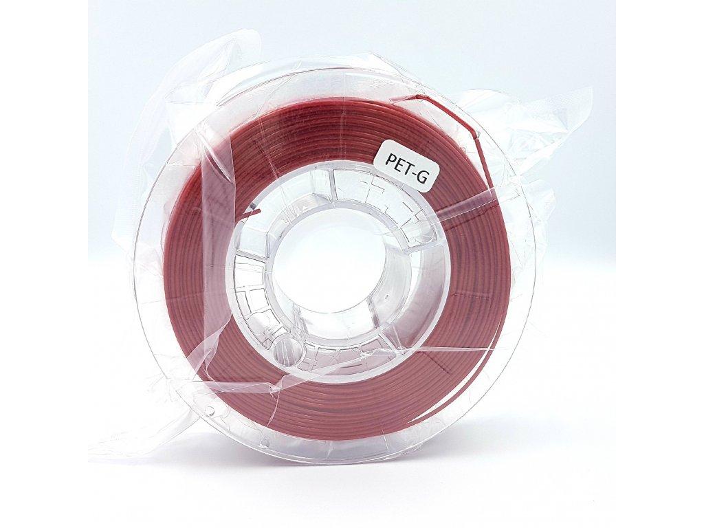 PET-G filament 1,75 mm červený Devil Design 330g