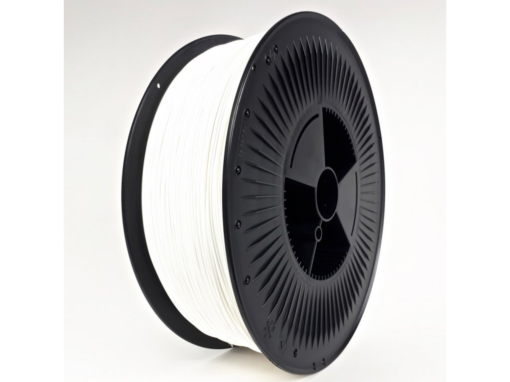PET-G filament 1,75 mm bílý Devil Design 5 kg
