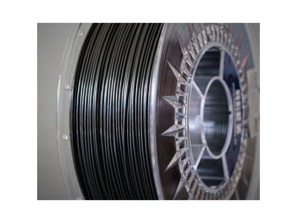 PETG filament grafit metalický 1,75 mm Herz 1 kg