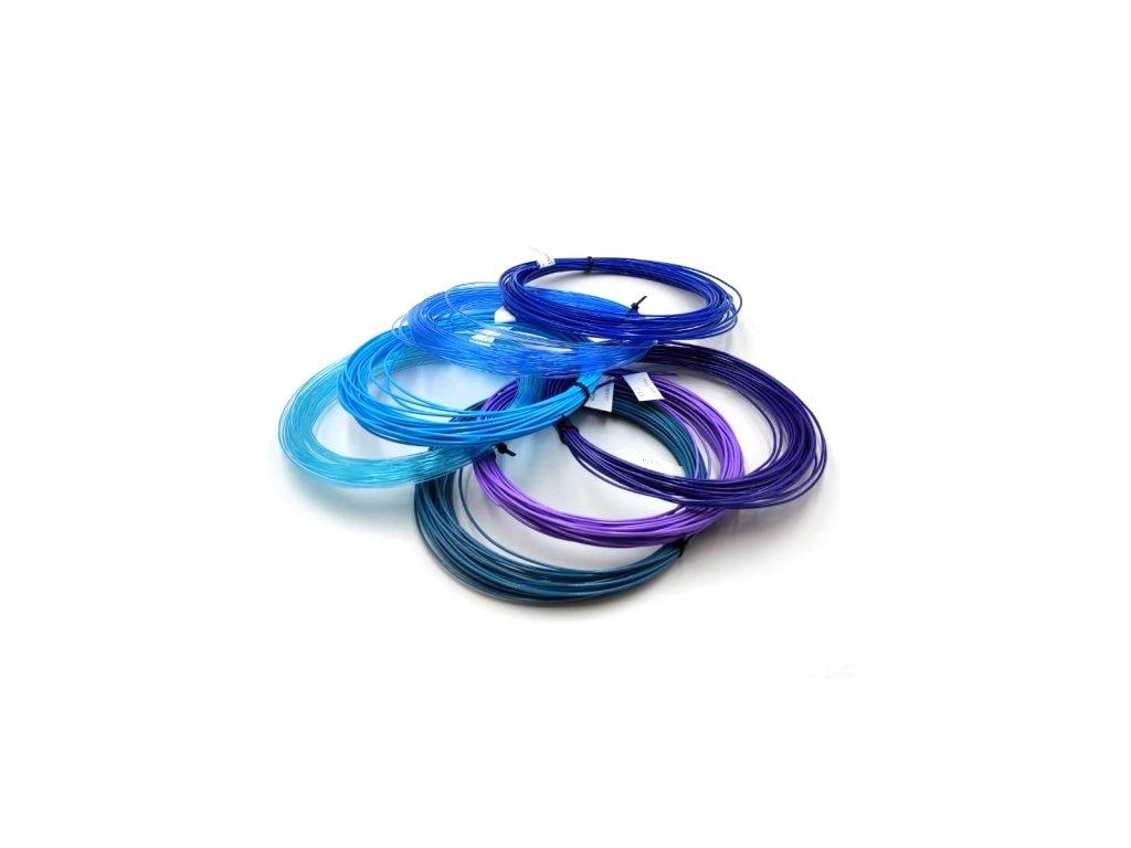PETG vzorník 7 barev modro fialové Devil Design