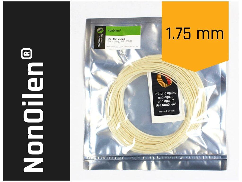 VZOREK 15 metrů - NonOilen tisková struna 1,75mm 0,75 kg Fillamentum ekologická