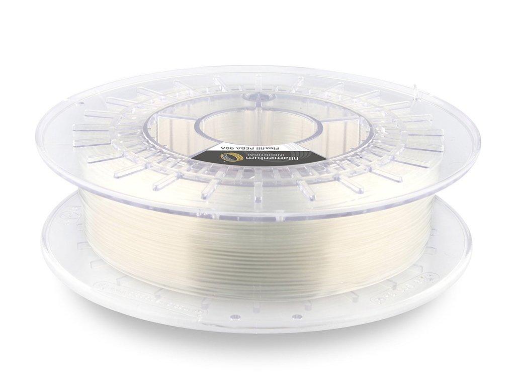 Flexfill PEBA 90A odolná tisková struna 1,75mm 0,5kg Fillamentum Natural