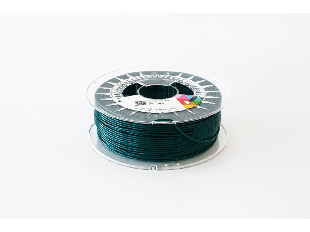 PLA filament nefritově zelený 1,75 mm Smartfil 0,75kg