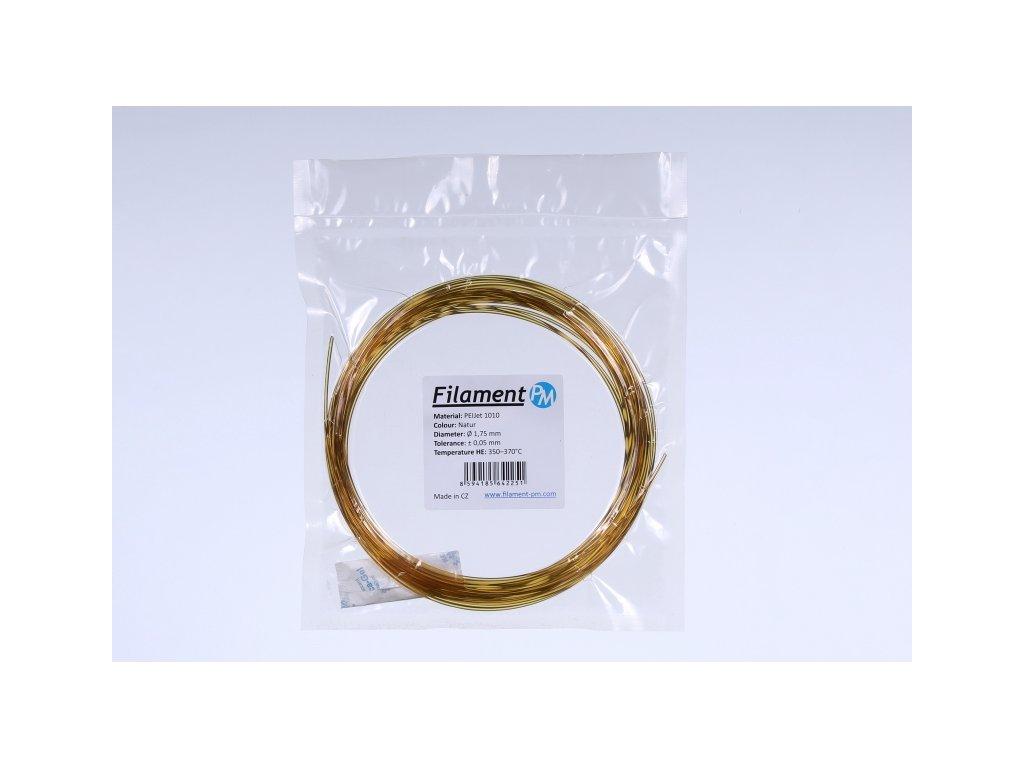Filament-PM VZOREK 10 METRŮ - PEIJet 1010 filament natural 1,75mm Filament PM