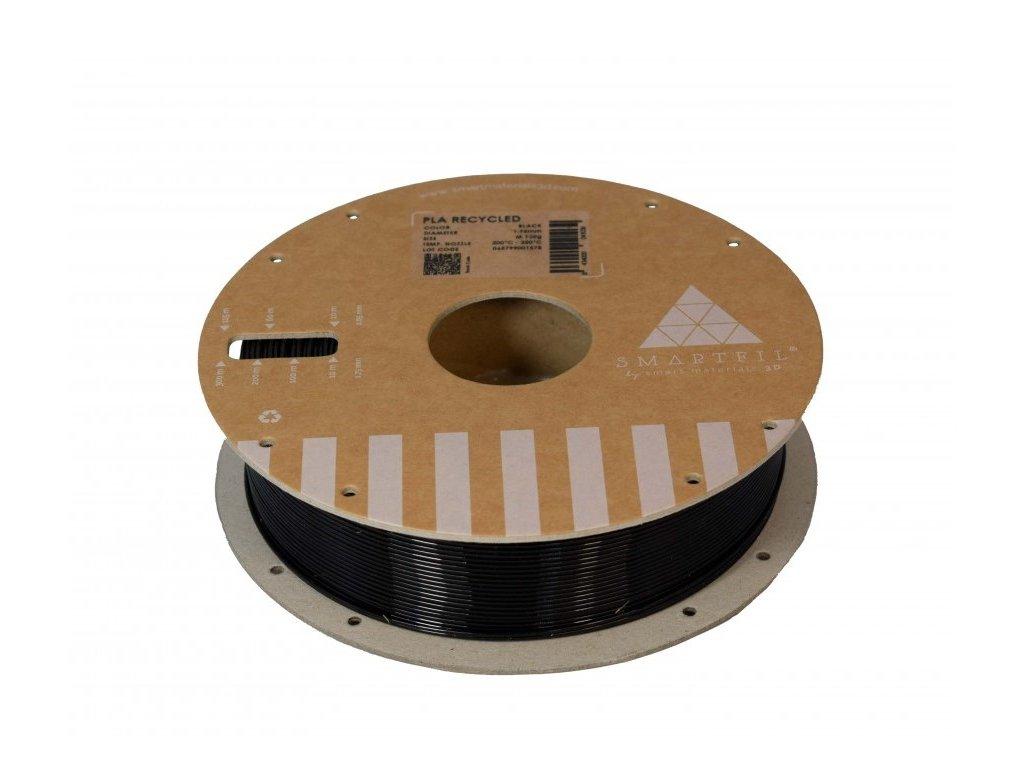PLA filament z recyklátu černý 1,75 mm Smartfil 0,75kg