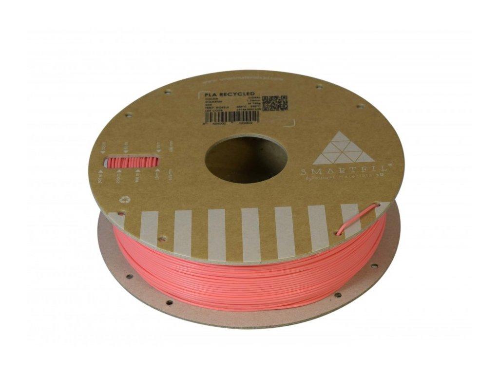 PLA filament z recyklátu korálový 1,75 mm Smartfil 0,75kg