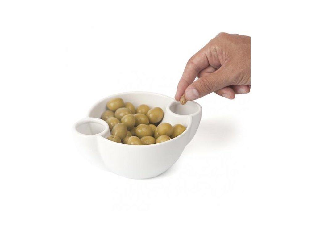 Miska na olivy a oříšky