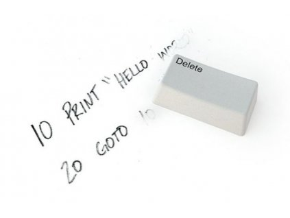 Obří kancelářská guma - Delete