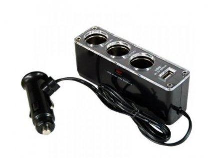 4 v 1 nabíjecí adaptér do auta