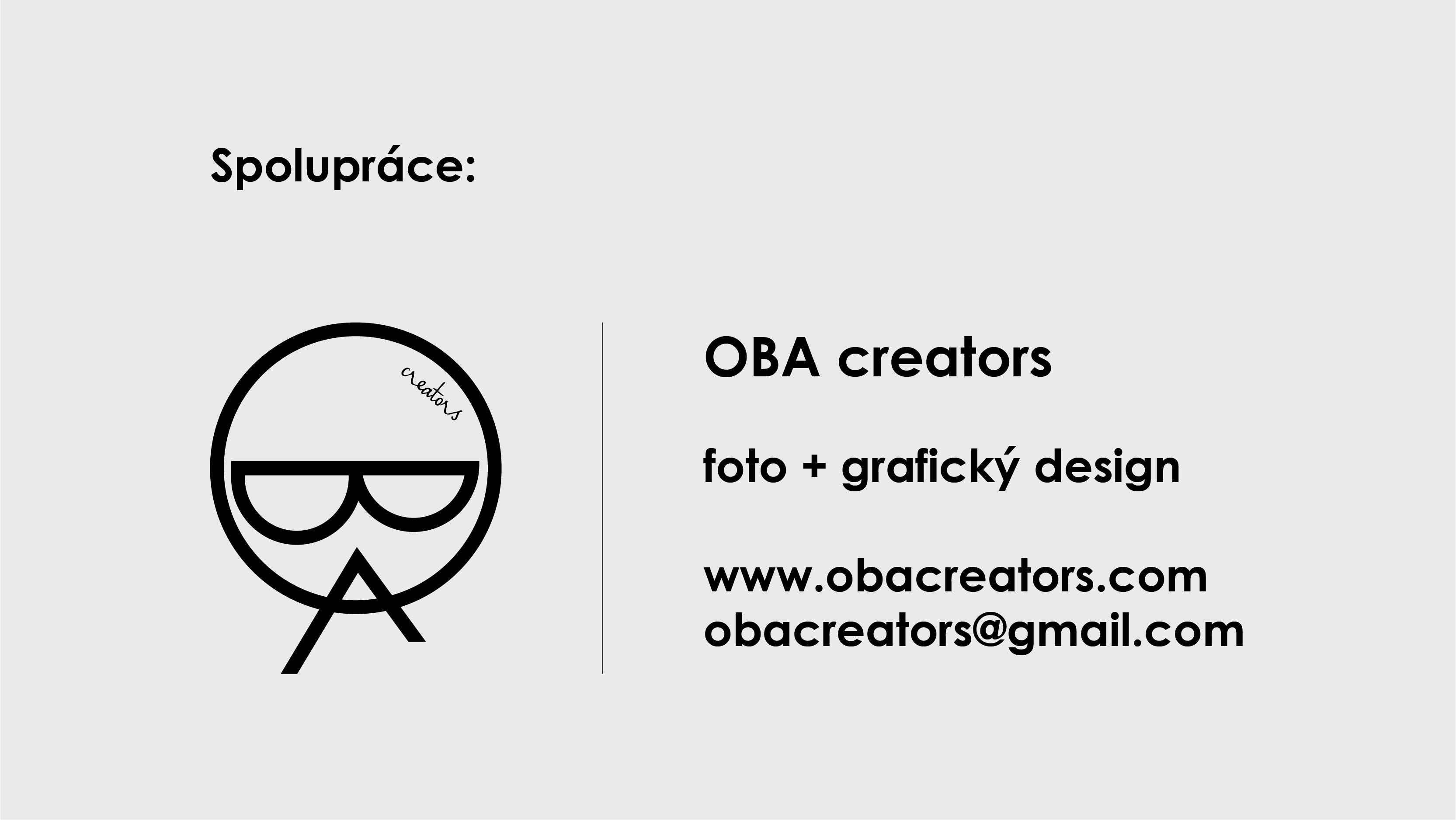 Spolupráce OBA creators